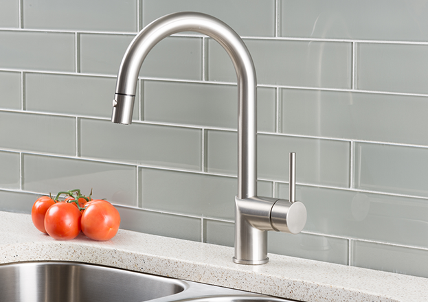 hahn ultramodern single lever pull down kitchen faucet stainless,Modern Kitchen Faucets Stainless Steel,Kitchen ideas