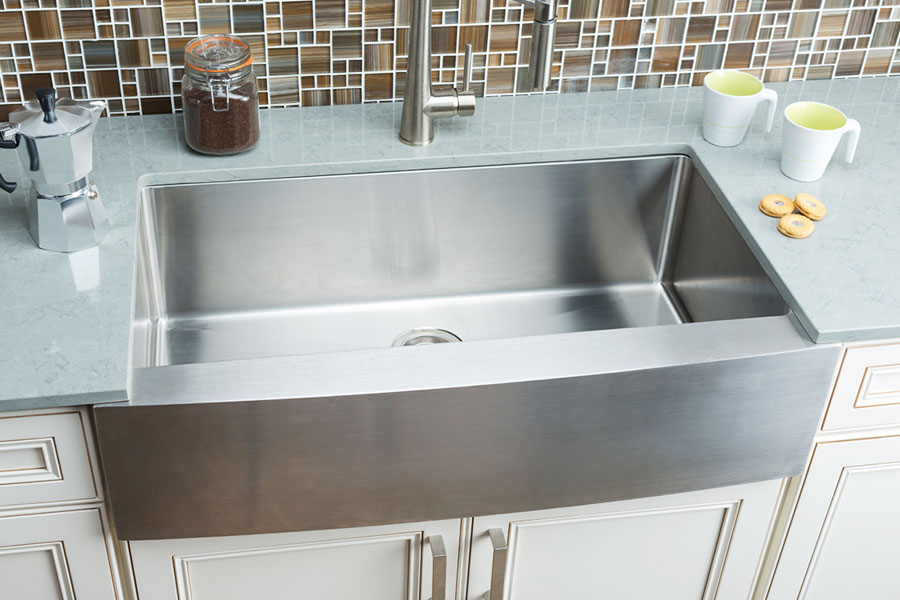 Single Tub Kitchen Sink Hahn farmhouse extra large single bowl sink workwithnaturefo