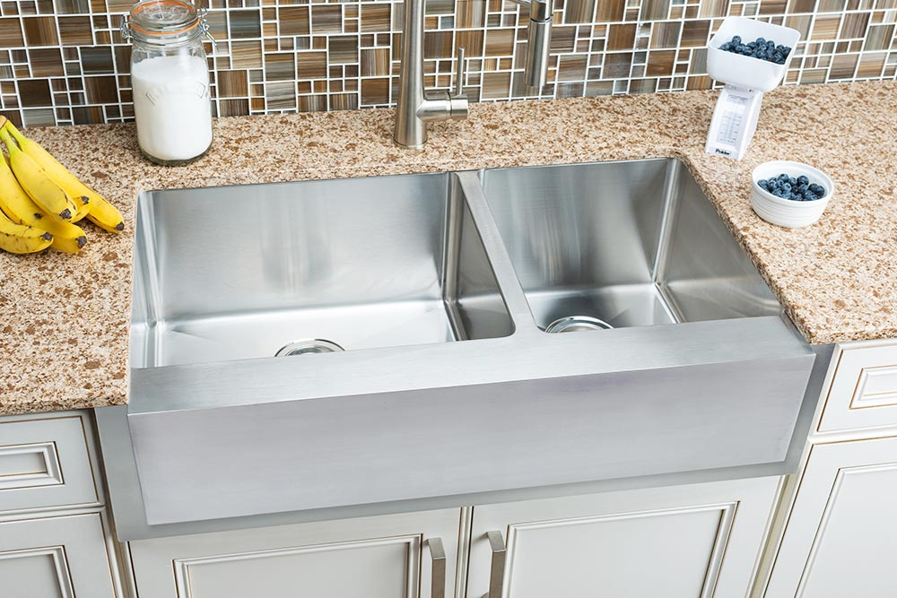 Hahn Notched Farmhouse Extra Large 60 40 Bowl Sink Jpg