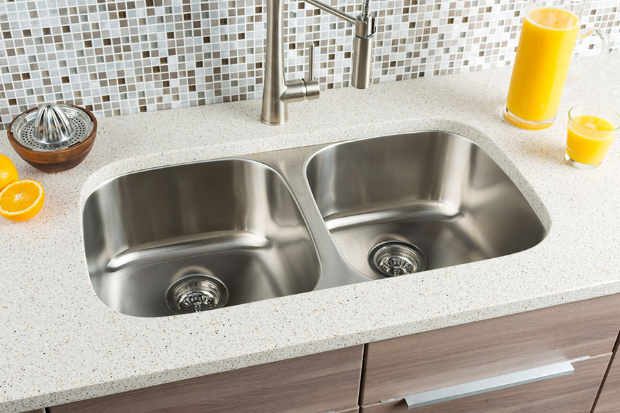 Hahn Chef Series Extra Large Equal Double Bowl Sink