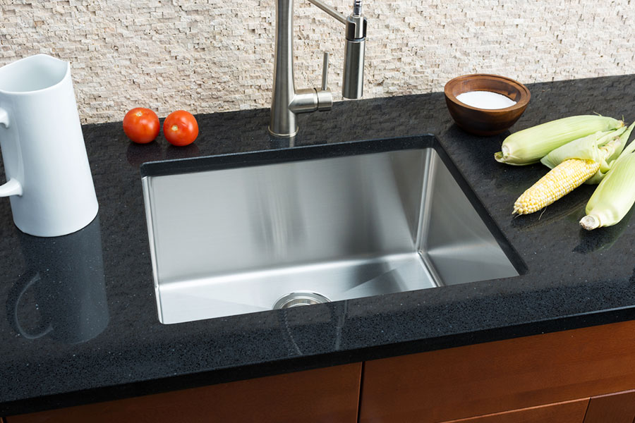 Hahn Small Undermount Single Bowl Kitchen Sink